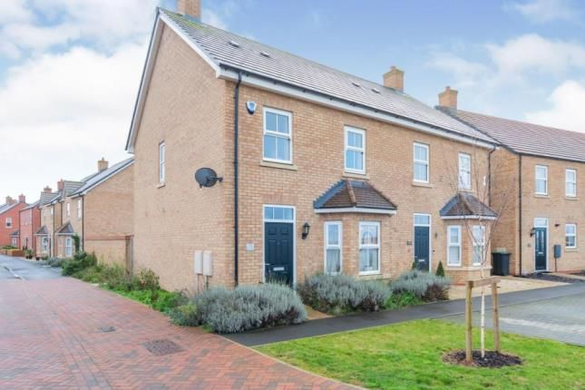 3 bed semi-detached house for sale in Carter Meadow, Biggleswade, Bedfordshire SG18