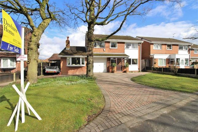 Thumbnail Detached house for sale in Central Drive, Penwortham, Preston