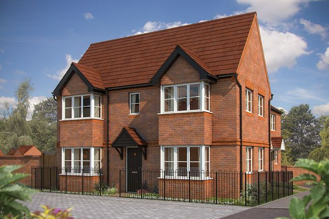 "Thumbnail End terrace house for sale in ""The Sheringham"" at Irthlingborough Road, Wellingborough"