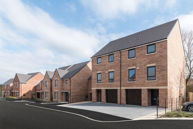 """Thumbnail Town house for sale in """"The Meldon"""" at Loansdean, Morpeth"""