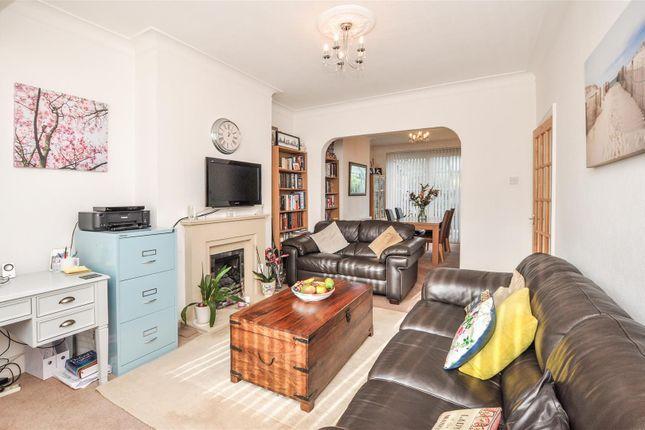 Thumbnail End terrace house for sale in Waddon Park Avenue, Waddon, Croydon