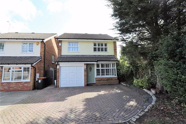 Thumbnail Detached house for sale in Saturn Close, Leighton Buzzard
