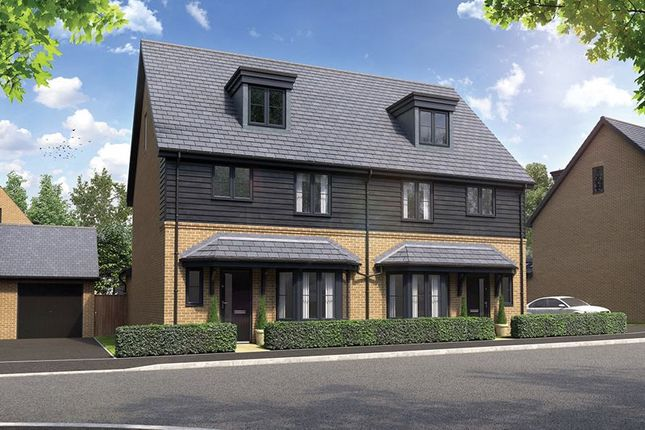 Thumbnail Semi-detached house for sale in Charlton Court, Reading Road, Wantage