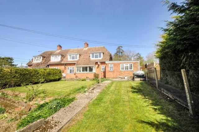 Thumbnail Semi-detached house for sale in Lambourn Woodlands, Newbury, Berkshire