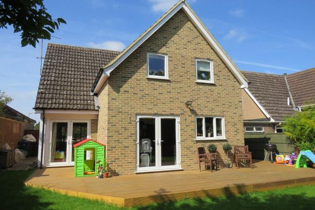 Thumbnail Detached house for sale in Hale Close, Melbourn, Royston
