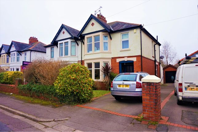 Thumbnail Semi-detached house for sale in St. Marys Road, Cardiff
