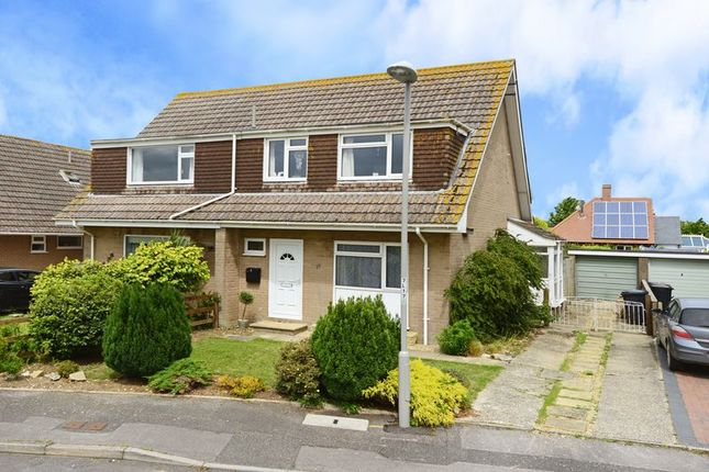 Thumbnail Semi-detached bungalow for sale in Lampton Close, Wool BH20.