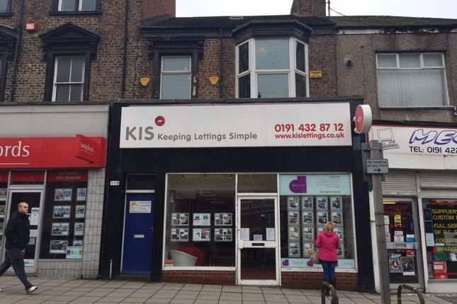 Thumbnail Retail premises for sale in 108/110 Fowler Street, South Shields