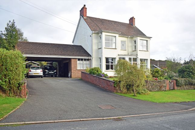 Thumbnail Detached house for sale in Cefnllys Lane, Llandrindod Wells