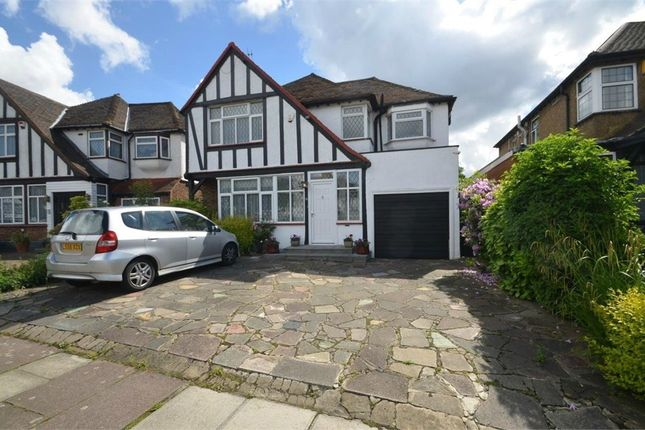 Thumbnail Detached house for sale in Parkside Drive, Edgware HA8, Middlesex