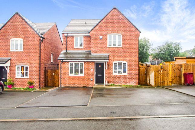 Thumbnail Detached house for sale in Hazelwood Close, Tibshelf, Alfreton