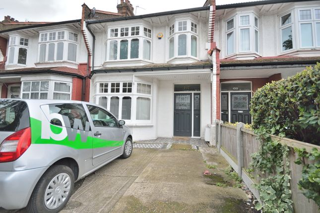 Thumbnail Terraced house to rent in Caversham Avenue, Palmers Green