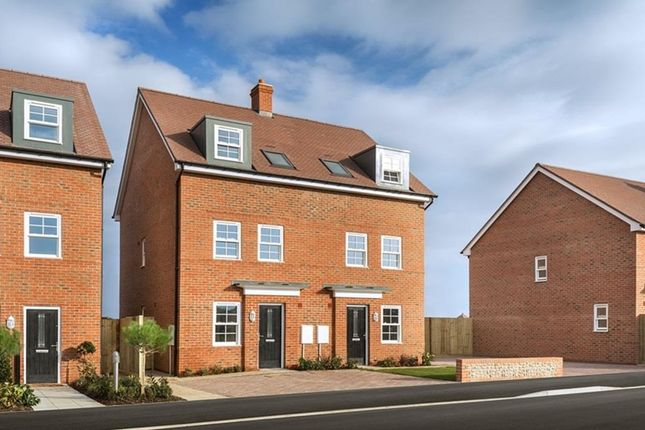 "Thumbnail 3 bed semi-detached house for sale in ""Norbury"" at Magna Road, Canford"