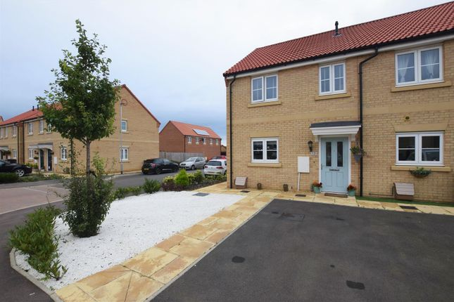 Thumbnail End terrace house for sale in Hetterley Drive, Barleythorpe, Oakham