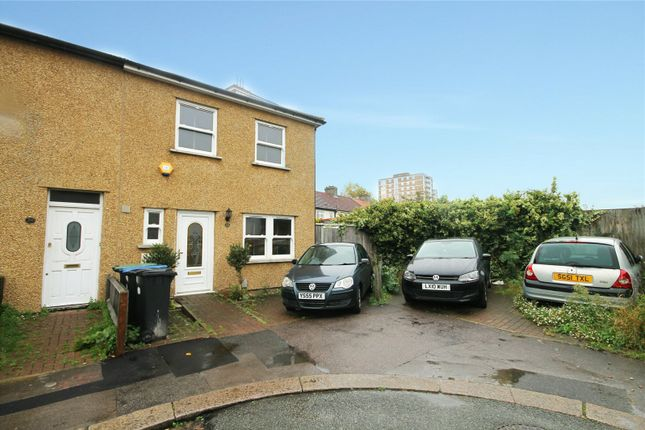 Thumbnail End terrace house for sale in East Road, Enfield