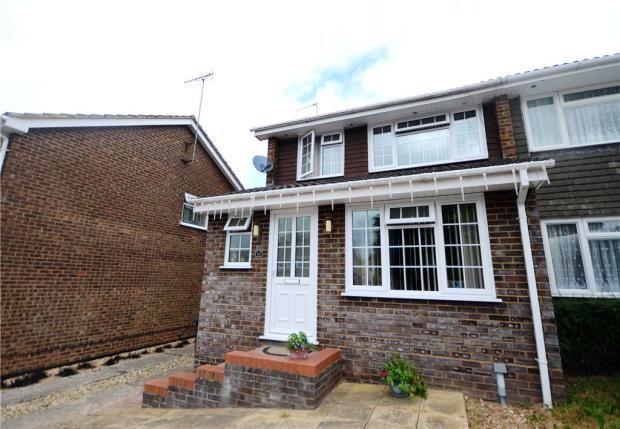 Thumbnail Semi-detached house for sale in Grainger Close, Basingstoke, Hampshire