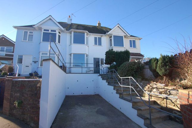 Thumbnail Terraced house to rent in Roundham Road, Paignton