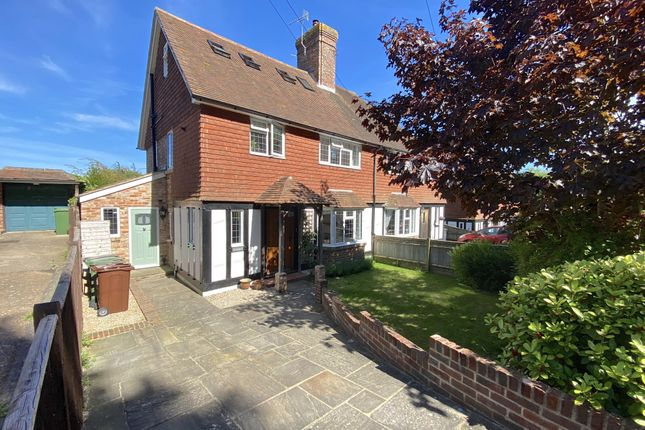 Thumbnail Semi-detached house for sale in Wish Hill, Eastbourne, East Sussex