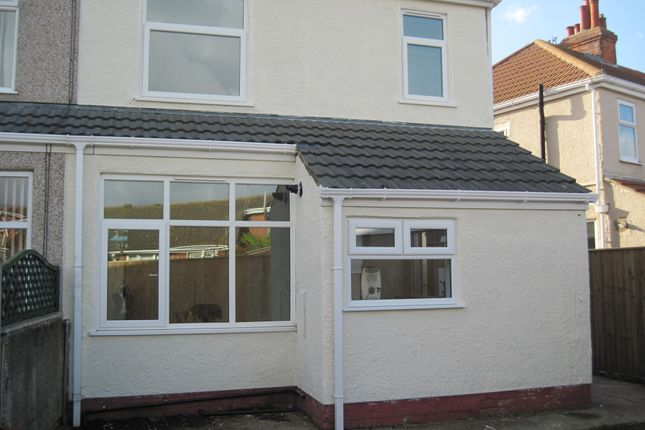Thumbnail Semi-detached house to rent in Lewis Road, Cleethorpes