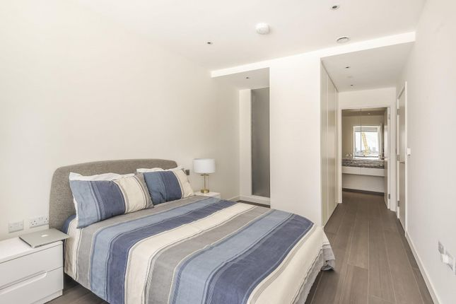 Bedroom of No.1, Upper Riverside, Cutter Lane, Greenwich Peninsula SE10