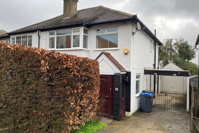 Thumbnail Semi-detached house to rent in Old Farleigh Road, South Croydon