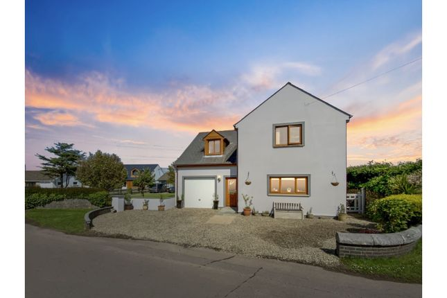 4 bed detached house for sale in The Green, Hundleton SA71