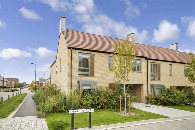 Thumbnail End terrace house to rent in Charger Road, Trumpington, Cambridge