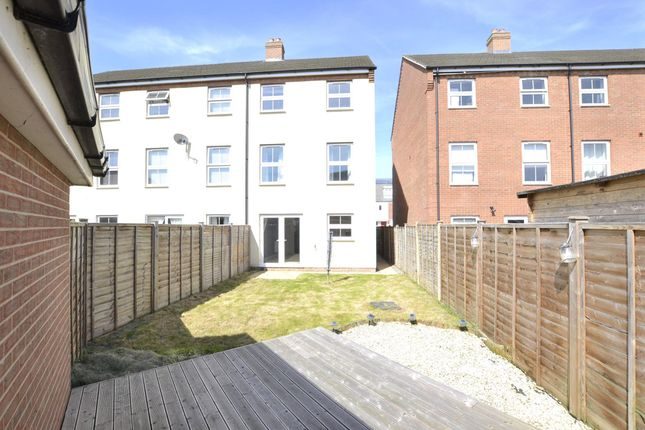 Thumbnail End terrace house to rent in Buckenham Walk, Kingsway, Quedgeley, Gloucester