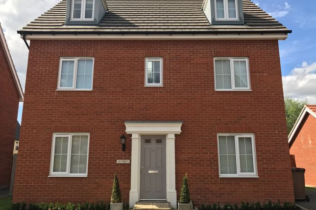 Thumbnail Detached house for sale in Peregrine Drive, Stowmarket