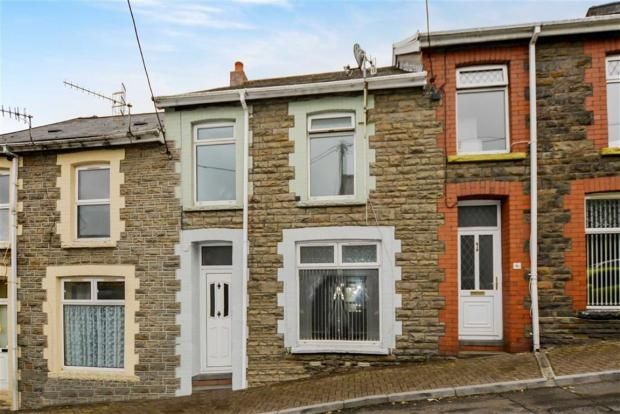 Thumbnail Terraced house to rent in Byron Street, Cwmaman, Aberdare