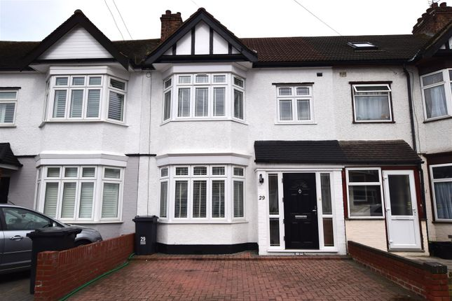 Thumbnail Terraced house for sale in Mansted Gardens, Chadwell Heath, Romford