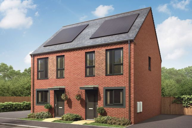 "2 bedroom semi-detached house for sale in ""The Bailey"" at Showell Road, Wolverhampton"