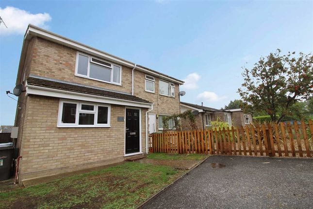 Thumbnail Semi-detached house for sale in Welhams Way, Brantham, Manningtree