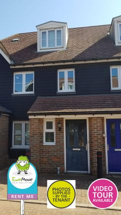 Thumbnail Town house to rent in Haycock Round, Stevenage