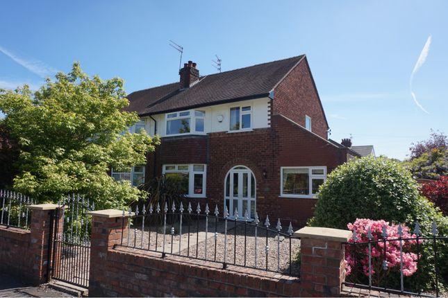 Thumbnail Semi-detached house for sale in Albert Road, Cheadle Hulme