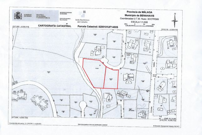 Thumbnail Land for sale in El Paraiso Alto, Benahavís, Málaga, Andalusia, Spain