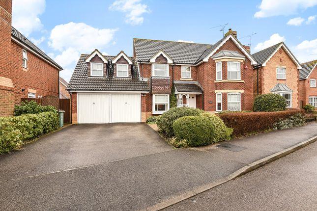 Thumbnail Detached house to rent in Elgar Way, Horsham