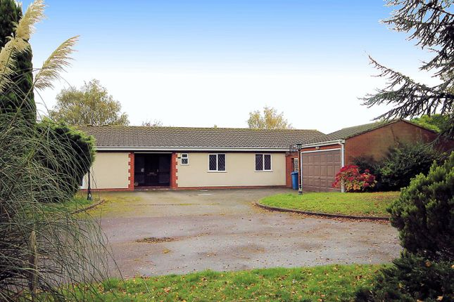 Thumbnail Detached bungalow for sale in Beechcroft, Glascote Lane, Tamworth
