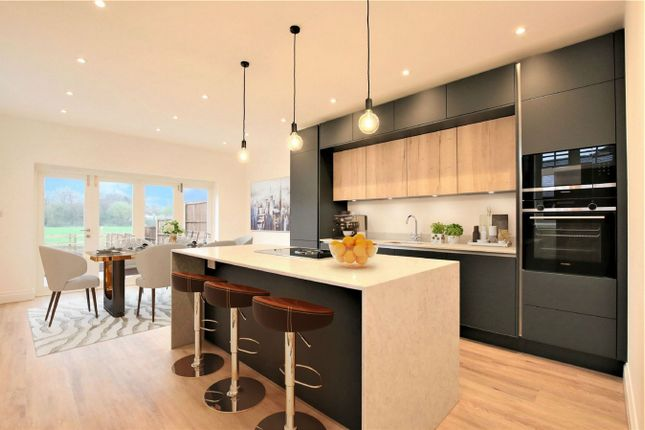 Thumbnail End terrace house for sale in Woodland View, High Road, Stapleford, Hertford, Hertfordshire