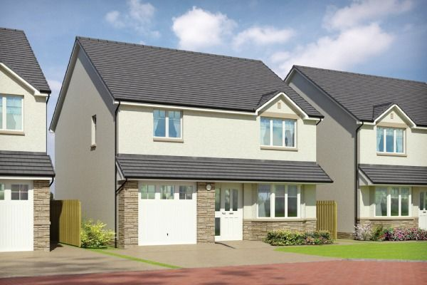 Thumbnail Detached house for sale in Plot 12 Cuillin, Silver Glen, Alva, Clackmannanshire