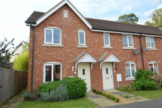Thumbnail End terrace house for sale in Lobelia Lane, Cringleford, Norwich