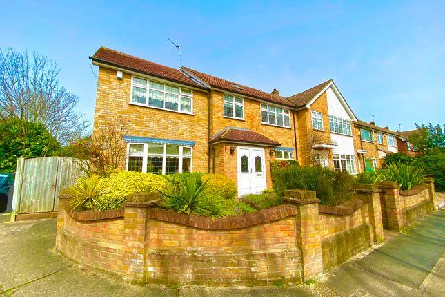 Semi-detached house for sale in Briars Walk, Harold Wood, Romford