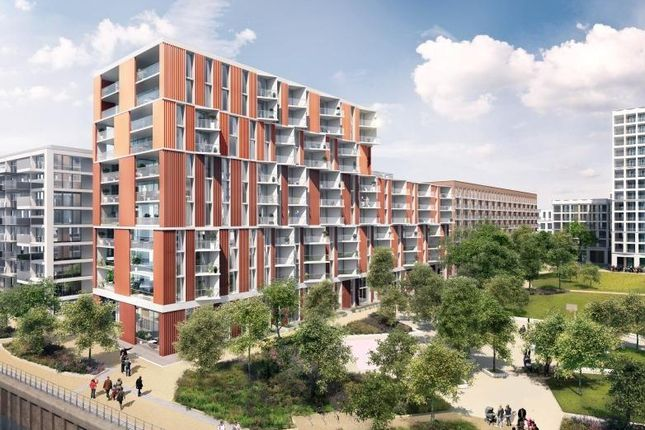 Thumbnail 1 bed flat for sale in Royal Wharf, Park View Place, London