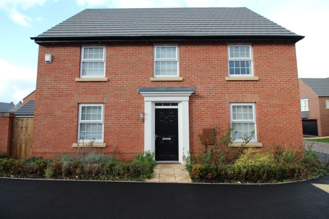Thumbnail Detached house to rent in Rowan Road, Glenfield