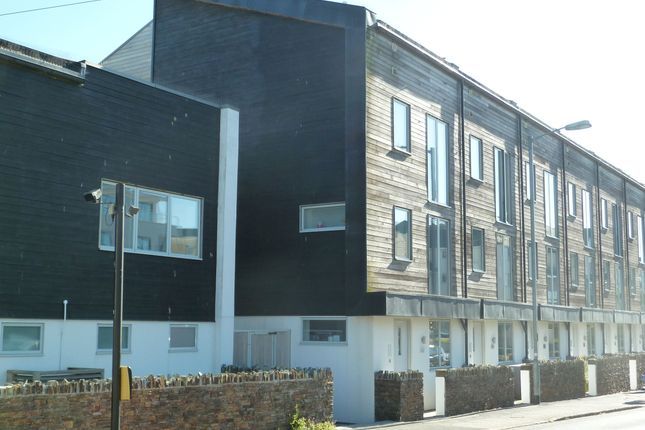 Thumbnail Town house for sale in Mount Wise, Newquay