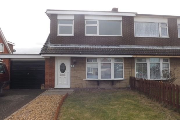 Thumbnail Semi-detached house to rent in Merfyn Way, Rhyl