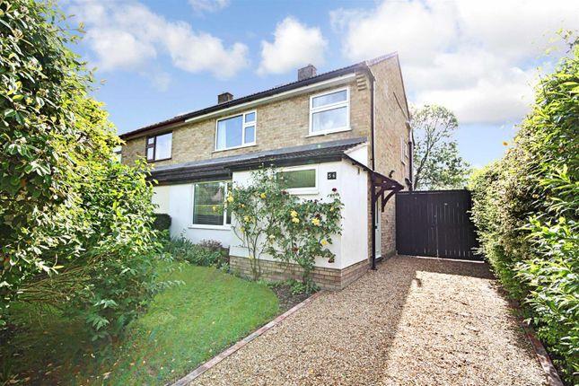 Thumbnail Semi-detached house to rent in High Street, Girton, Cambridge