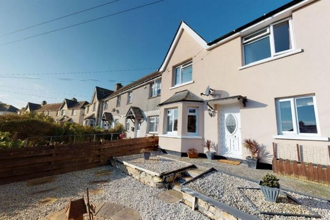 End terrace house for sale in Treweath Road, Penzance, Cornwall.