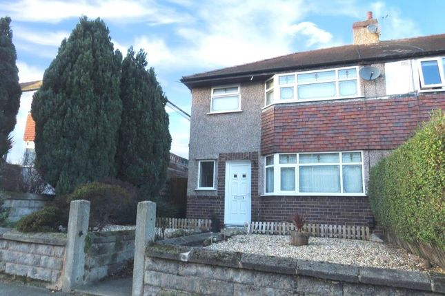 Thumbnail Semi-detached house to rent in Quarry Road East, Bebington, Wirral