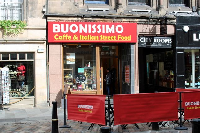 Thumbnail Retail premises for sale in Leasehold - Buonissimo, 21 High St, Inverness